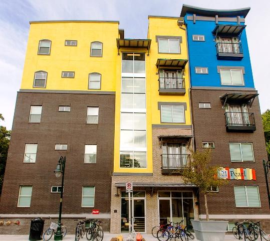 West Campus Apartments, Campus Apartments
